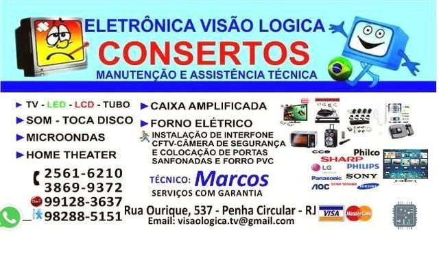 Eletrônica visão logica (conserto-manutenção e assistência técnica)