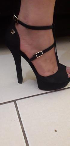 Sapato Carmen Steffens, , bolsa arezzo todos originais