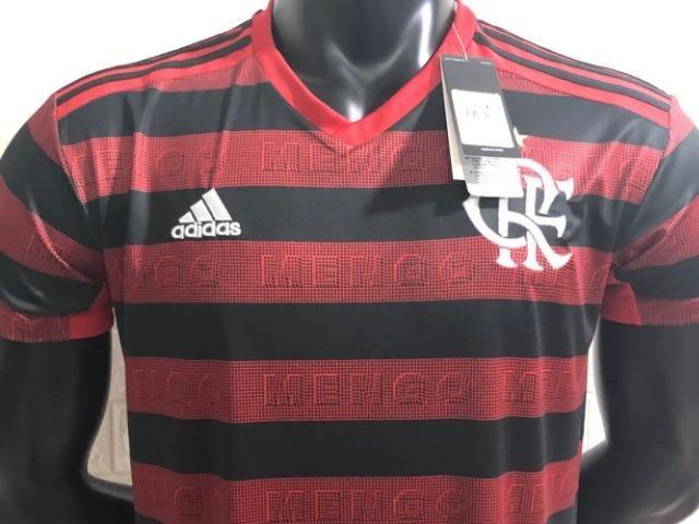 344b422f2a Camisa Flamengo Vermelha Mengo 2019 20 Home - Esportes e ginástica ...