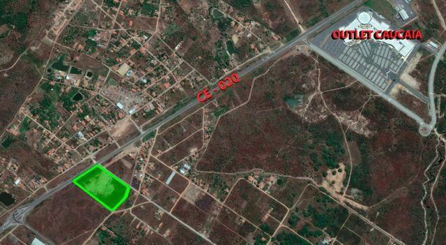 """Caucaia - Terreno Frente BR 020 de 18.000 m2 - ao lado """"Caucaia Outlet"""""""