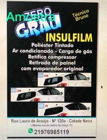 INSULFILM e ar condicionado - Foto 5