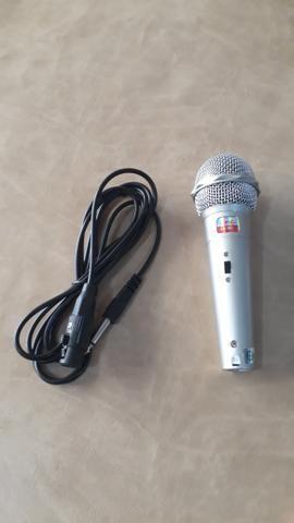 Microfone com Fio Novo