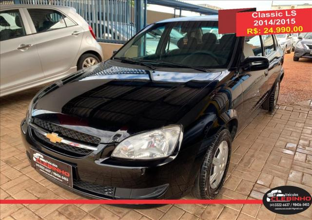 CHEVROLET CLASSIC 1.0 MPFI LS 8V FLEX 4P MANUAL - Foto 2