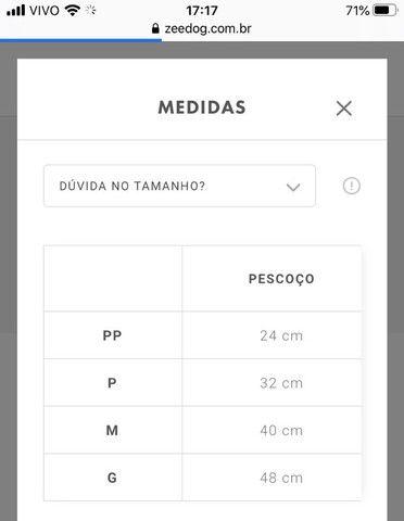 Peitoral + guia ZEEDOG - Foto 5
