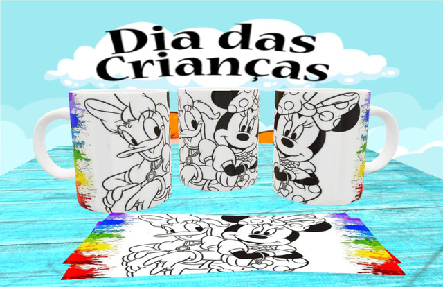 Canecas personalizada para colorir - Foto 5