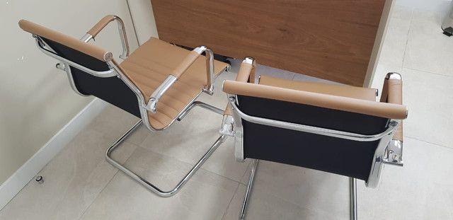 Conjunto cadeiras escritório  - Foto 2