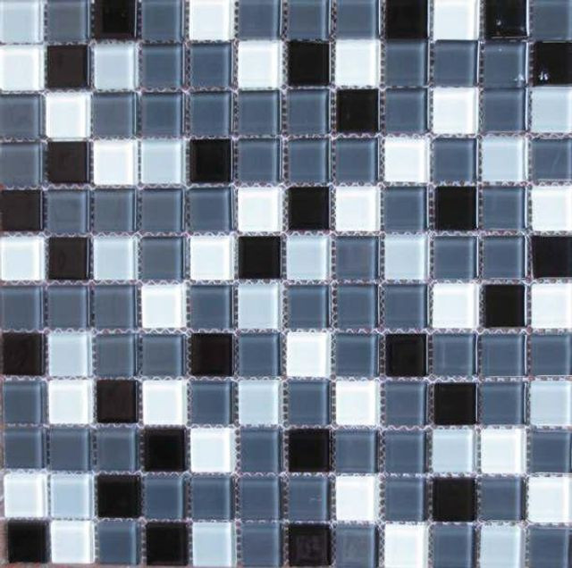Pastilha de vidro - Mosaico colorido