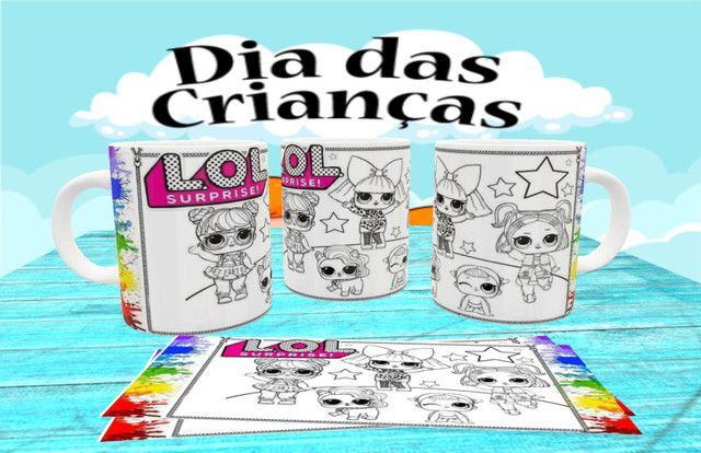 Canecas personalizada para colorir - Foto 4