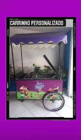 Carrinhos Personalizados (Estação das Tendas) a partir de R$ 1.899,00 a vista - Foto 2