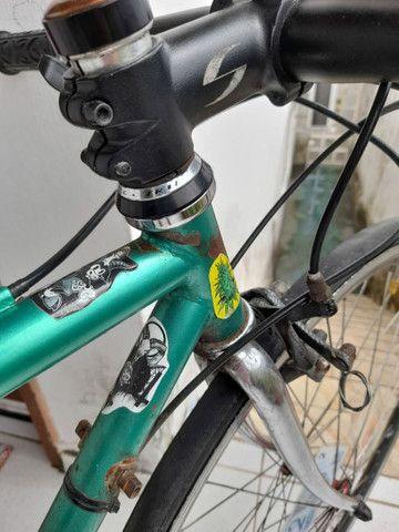 Bike Quadro Magrela Antigo - Foto 6