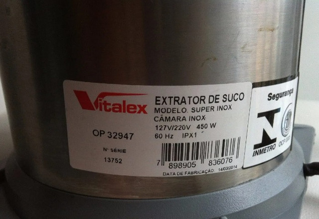 Extrator/Espremedor De Suco Industrial Grande Vitalex - Foto 3