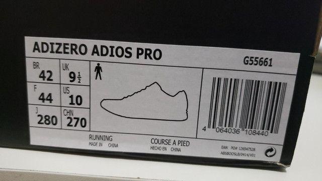 Adios Pro - Adidas - Tamanho 42 - Oportunidade única - Foto 2