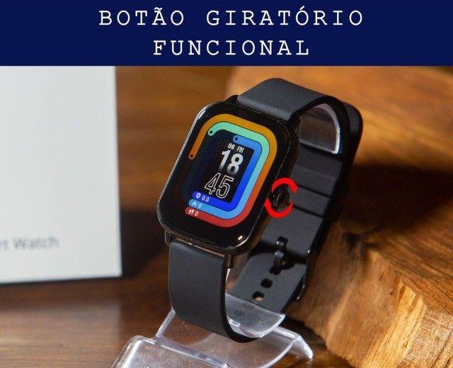 SmartWatch P8 Plus Preto Oferta Imperdível !!! - Foto 3