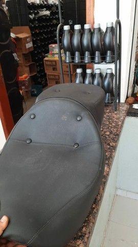 Banco confort para moto custom - Foto 4