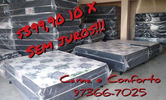 MEGA FEIRÃO!!! CAMA BOX CASAL $369,90!! ENTREGA GRÁTIS!!! - Foto 5