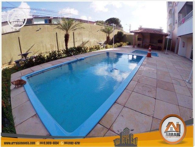 Apartamento com 3 dormitórios à venda, 64 m² por R$ 250.000 - Maraponga - Fortaleza/CE - Foto 2