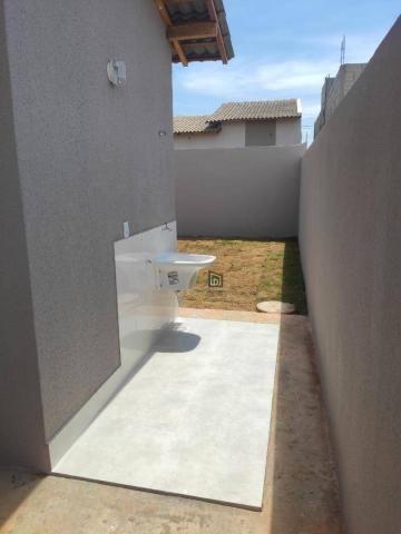 Casa com 2 dormitórios à venda, 66 m² por R$ 159.900 - Jacaranda - Várzea Grande/MT - Foto 2