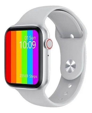Smartwatch Iwo 12 - Faz Ligações/ Lista Contatos + Brinde Pulseira Aço - Foto 2
