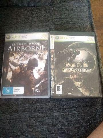 Dois jogos Xbox 360 25 reais