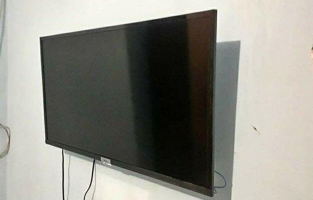 Vendo TV smart 43 polegadas com nota fiscal está semi nova - Foto 2