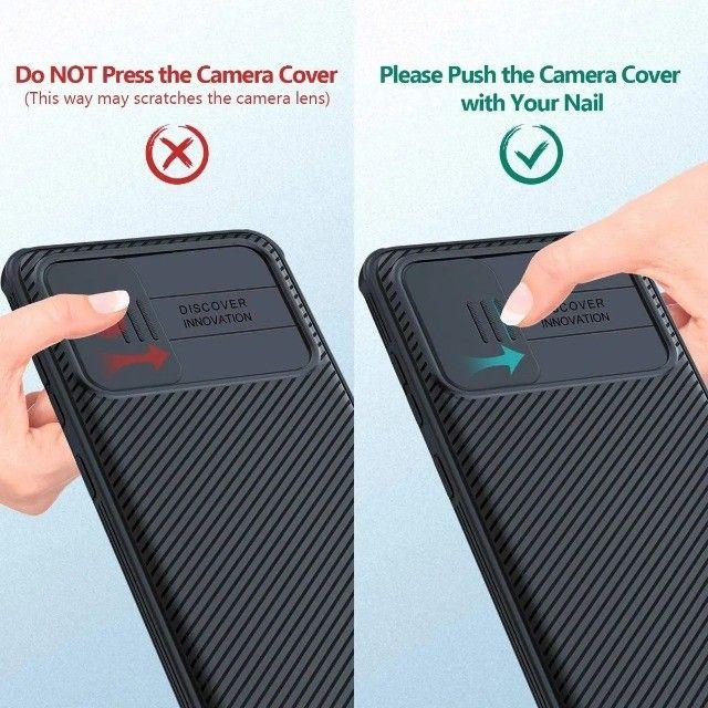 Capa Nillkin Para Galaxy S20 Plus Com Proteção Para Câmeras - Foto 4