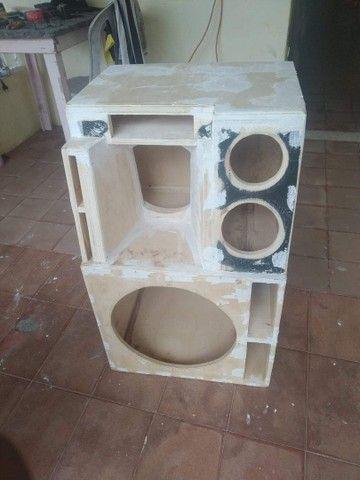 Vendo  projeto caixa Bob  para alto falante de 15 - Foto 4