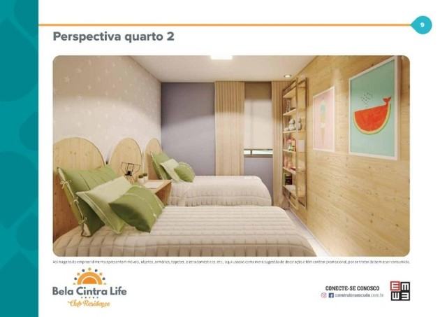 Apartamento no Bela Cintra Life, com 2 quartos - Foto 4