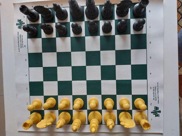 Jogo de Xadrez oficial - Foto 2