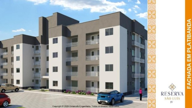 Apartamento, 2 quartos, Turu// Reserva são luís - Foto 6