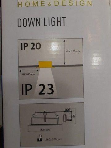 Luminária de Embutir para 2 Lâmpadas - Foto 4