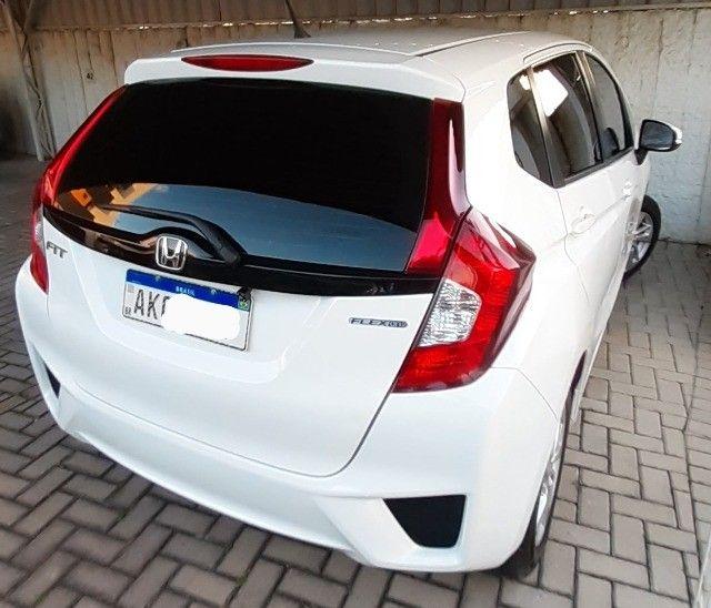Honda Fit Cvt Branco 2015. Excelente.  - Foto 12