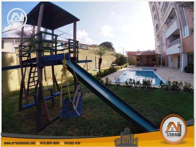 Apartamento com 3 dormitórios à venda, 64 m² por R$ 250.000 - Maraponga - Fortaleza/CE - Foto 3