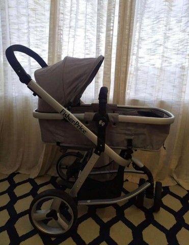 Carrinho de bebê seme novo - Foto 2