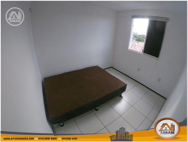 Apartamento com 3 dormitórios à venda, 64 m² por R$ 250.000 - Maraponga - Fortaleza/CE - Foto 9