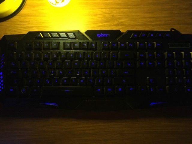 Teclado gamer 3 cores - Foto 3