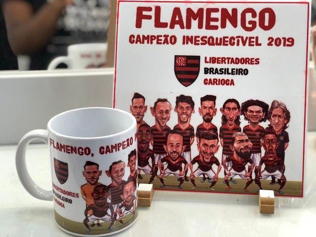 Kit caricatura Flamengo - Foto 2