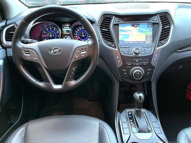 Hyundai Santa Fe ótimo estado 2015  - Foto 7