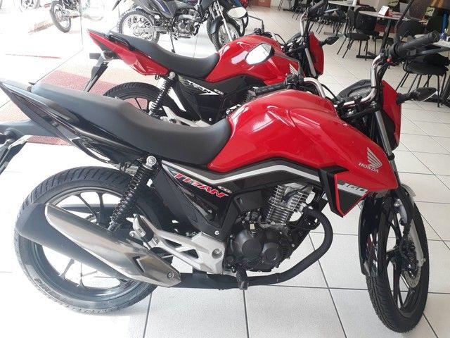 Moto Honda Titan 160 Entrada: 1.580 Financiada!!! - Foto 3
