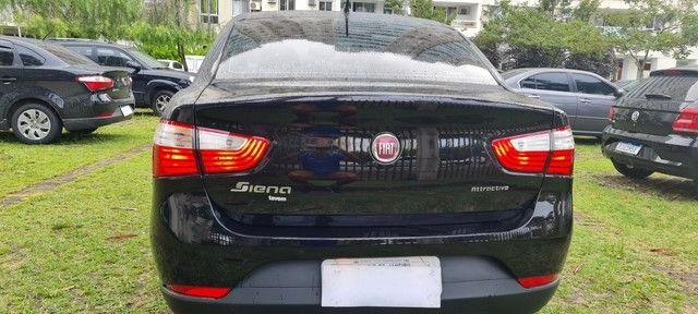 Grand Siena GNV geração 5, chave reserva,manual  nota fiscal de fábrica ?único dono. - Foto 2