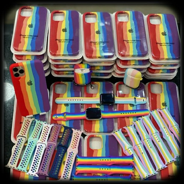 Capas originais iPhone  colorida  - Foto 2