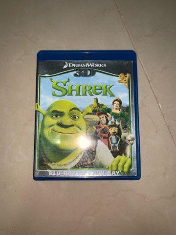 DVD Blu-ray 3D Sherek