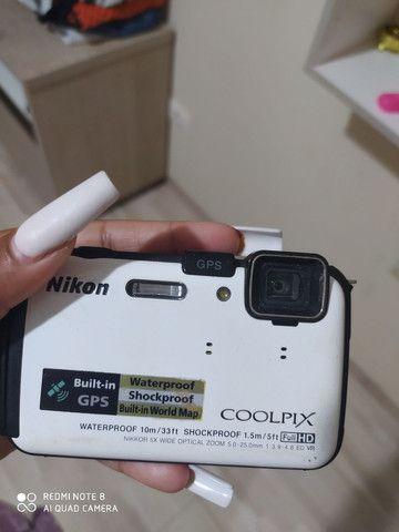 Nikon COOLPIX AW130 Câmera digital impermeável<br>NOVA ( Branca) - Foto 2