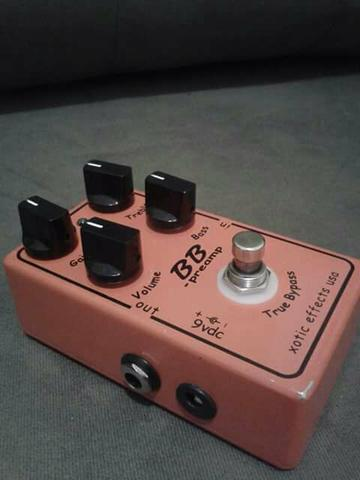 Pedal BB Preamp Overdrive