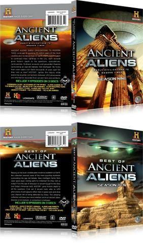 13 Box Alienígenas Do Passado ''13 Temporadas'' 40 Dvd's