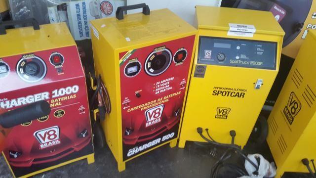 Carregador de bateria 500 chager grande