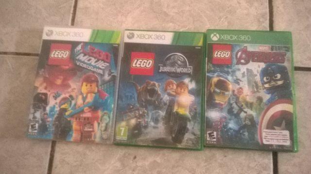 Jogos xbox 360. maioria lego