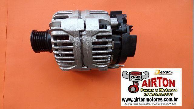 Alternador-motor-arranque-compressor-bloco-cabeçote-virabrequim-comando-coletor-biela-tbi
