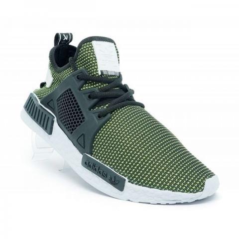 Tênis adidas nmd xr1 primeknit verde 38 ao 42