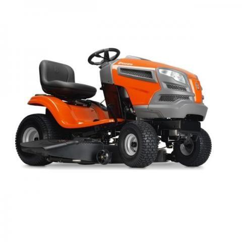 Trator cortador de grama à gasolina Husqvarna YTH2042