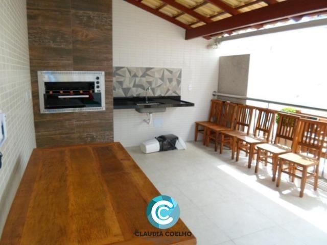 Lindíssimo apartamento, com área de lazer, em Guarapari na praia do morro! - Foto 3